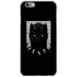 black striped profile girls iPhone 6/6s Case   Artistshot