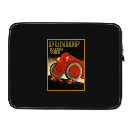 A 1900s Dunlop Tire Ad Laptop Sleeve Designed By Connie
