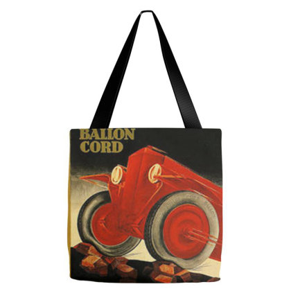 A 1900s Dunlop Tire Ad Tote Bags Designed By Connie