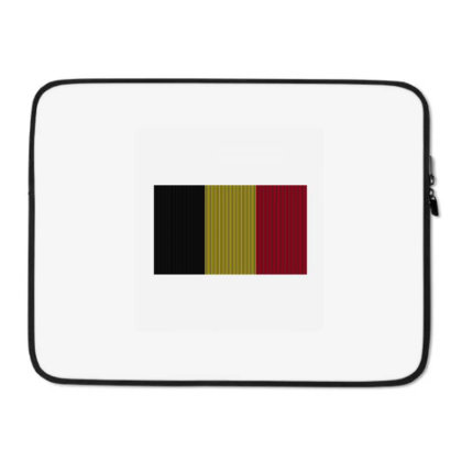 Flag Of Belgium Laptop Sleeve Designed By Alamy