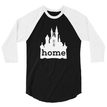 Cinderella Castle 3/4 Sleeve Shirt Designed By Talans