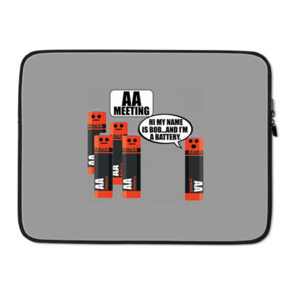 Aa Meeting Premium Laptop Sleeve Designed By Connie