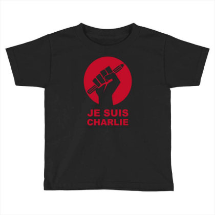 Je Suis Charlie Freedom Of Speech Toddler T-shirt Designed By Ramateeshirt