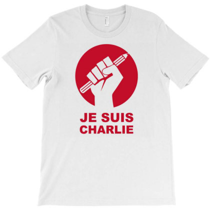 Je Suis Charlie Freedom Of Speech T-shirt Designed By Ramateeshirt