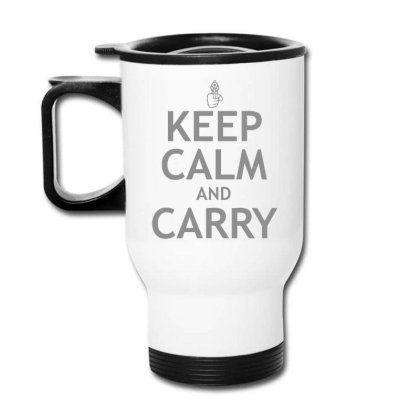 Calm  Carry Travel Mug Designed By H3lm1