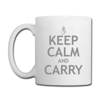 Calm  Carry Coffee Mug Designed By H3lm1