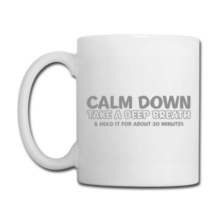 Calm Down Coffee Mug Designed By H3lm1