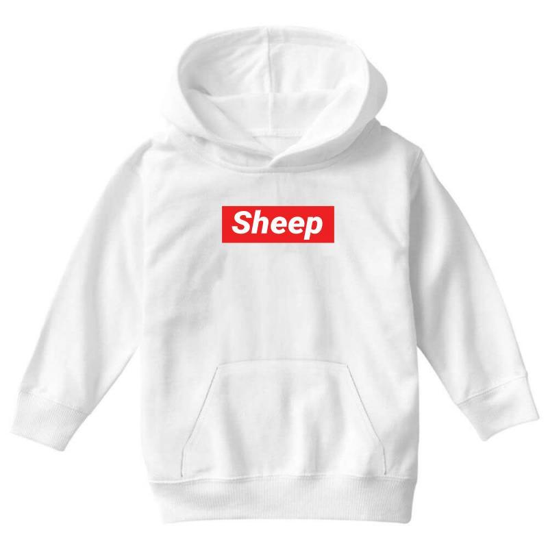 Sheep (idubbbz Merch) Supreme Youth Hoodie | Artistshot