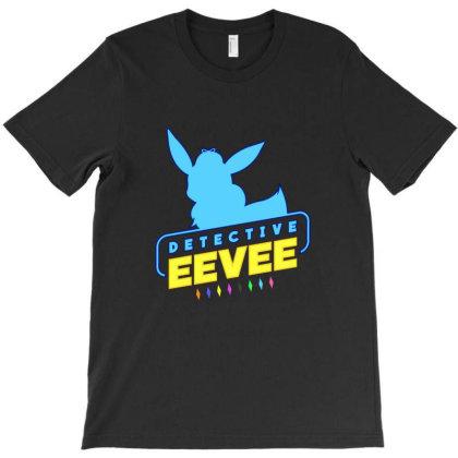 Detective Eevee T-shirt Designed By Bogaya