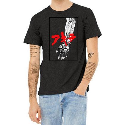 Akira Arm Heather T-shirt Designed By Paísdelasmáquinas