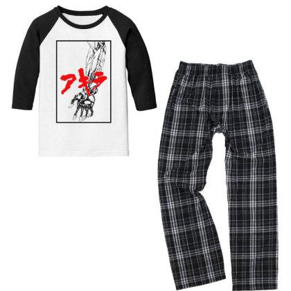 Akira Arm Youth 3/4 Sleeve Pajama Set Designed By Paísdelasmáquinas