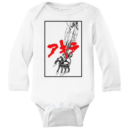 Akira Arm Long Sleeve Baby Bodysuit Designed By Paísdelasmáquinas