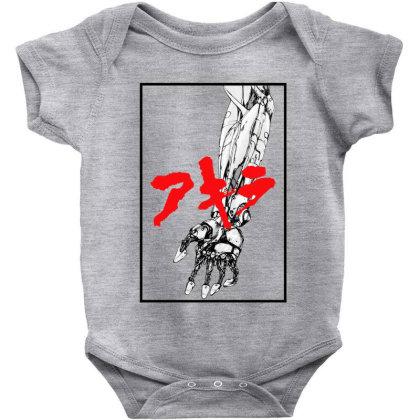 Akira Arm Baby Bodysuit Designed By Paísdelasmáquinas