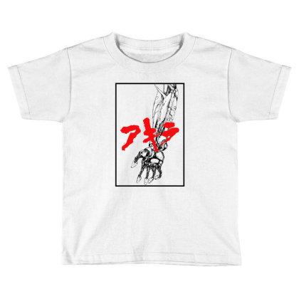 Akira Arm Toddler T-shirt Designed By Paísdelasmáquinas