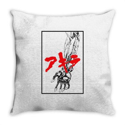 Akira Arm Throw Pillow Designed By Paísdelasmáquinas