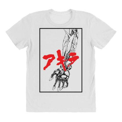 Akira Arm All Over Women's T-shirt Designed By Paísdelasmáquinas