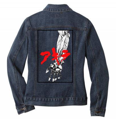 Akira Arm Ladies Denim Jacket Designed By Paísdelasmáquinas