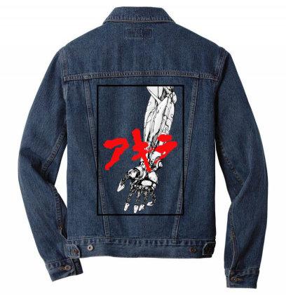 Akira Arm Men Denim Jacket Designed By Paísdelasmáquinas
