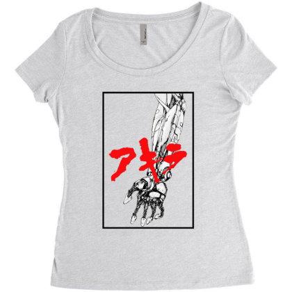 Akira Arm Women's Triblend Scoop T-shirt Designed By Paísdelasmáquinas