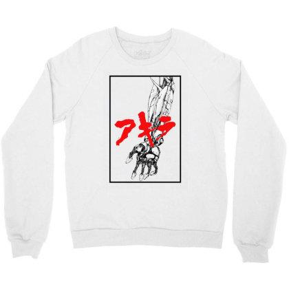 Akira Arm Crewneck Sweatshirt Designed By Paísdelasmáquinas