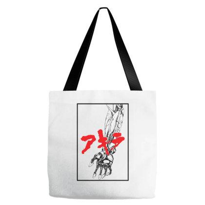 Akira Arm Tote Bags Designed By Paísdelasmáquinas