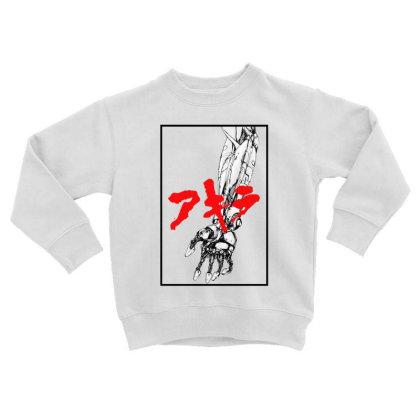Akira Arm Toddler Sweatshirt Designed By Paísdelasmáquinas