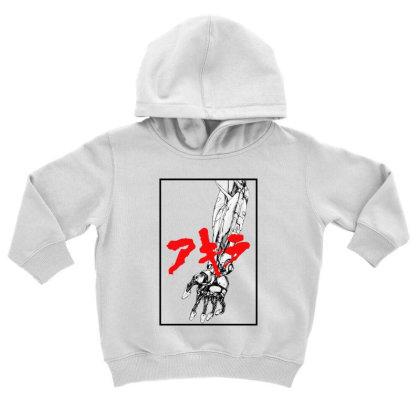 Akira Arm Toddler Hoodie Designed By Paísdelasmáquinas