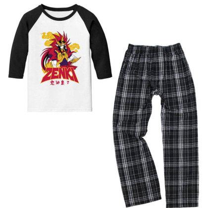 Zenki Youth 3/4 Sleeve Pajama Set Designed By Paísdelasmáquinas