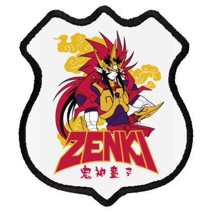 Zenki Shield Patch Designed By Paísdelasmáquinas