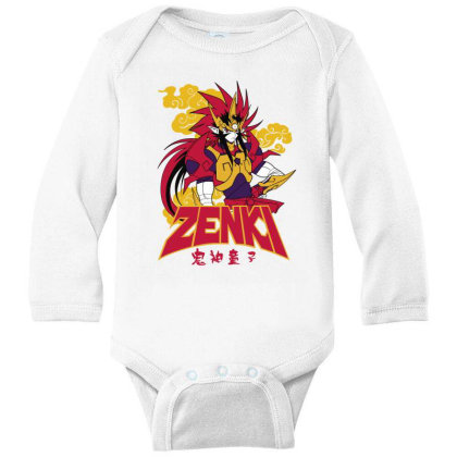 Zenki Long Sleeve Baby Bodysuit Designed By Paísdelasmáquinas
