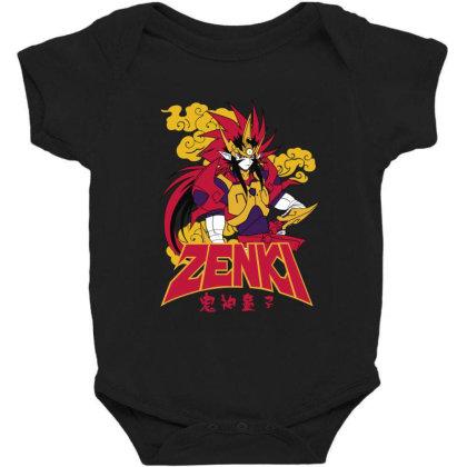 Zenki Baby Bodysuit Designed By Paísdelasmáquinas