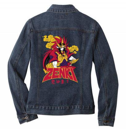Zenki Ladies Denim Jacket Designed By Paísdelasmáquinas