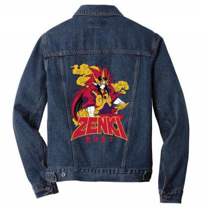 Zenki Men Denim Jacket Designed By Paísdelasmáquinas