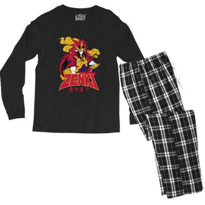 Zenki Men's Long Sleeve Pajama Set Designed By Paísdelasmáquinas