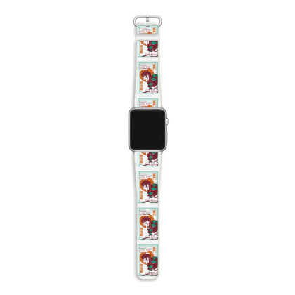 Tanjiro Demon Slayer Apple Watch Band Designed By Paísdelasmáquinas