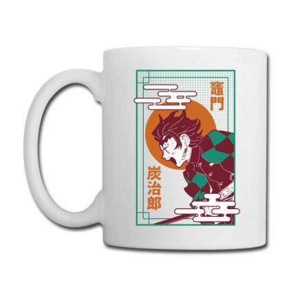 Tanjiro Demon Slayer Coffee Mug Designed By Paísdelasmáquinas