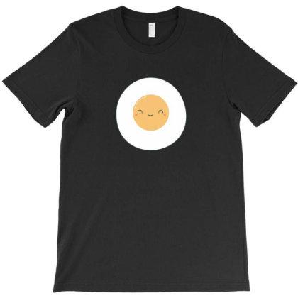 Fried Eggs Kawaii Art T-shirt Designed By H3lm1