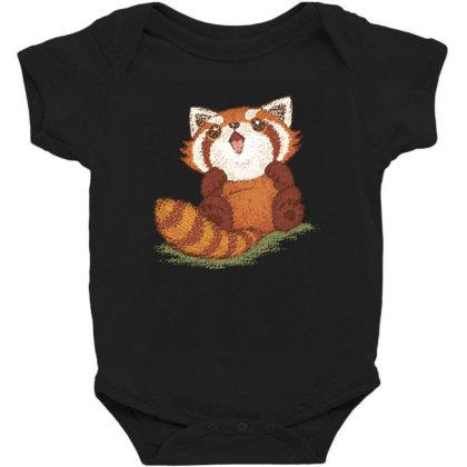 Baby Red Panda Baby Bodysuit