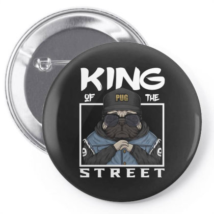 King Of The Street Pin-back Button Designed By Estore