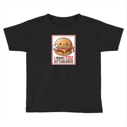 Hamburger Sam Toddler T-shirt Designed By H3lm1