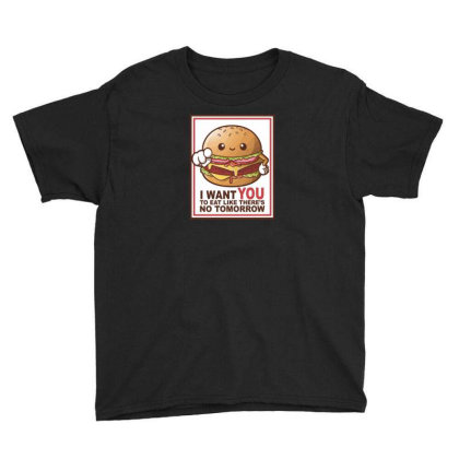 Hamburger Sam Youth Tee Designed By H3lm1