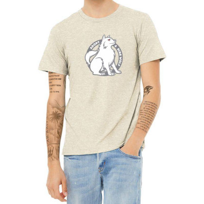 Adopt A Dire Wolf Heather T-shirt Designed By Gracer
