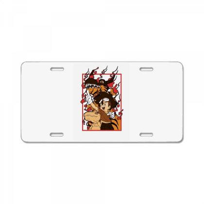 Digimon Agumon License Plate Designed By Paísdelasmáquinas