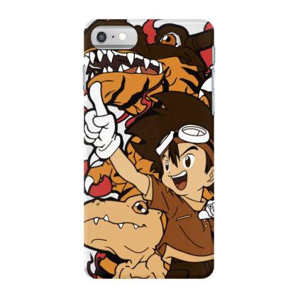 Digimon Agumon Iphone 7 Case Designed By Paísdelasmáquinas
