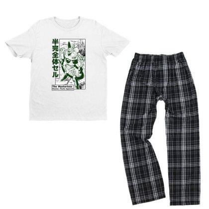 Cell Form2 Youth T-shirt Pajama Set Designed By Paísdelasmáquinas