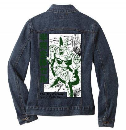 Cell Form2 Ladies Denim Jacket Designed By Paísdelasmáquinas