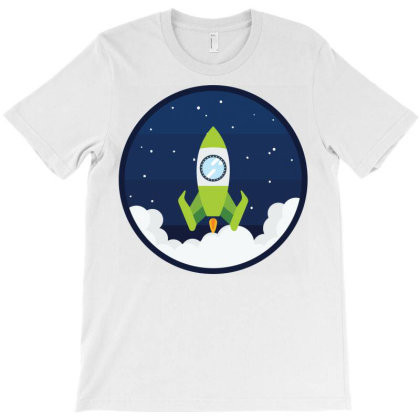Space Rocket Center Spacecraft Space Ship T-shirt Designed By Salmanaz