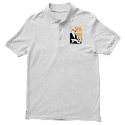 Bleach Ichigo Men's Polo Shirt Designed By Paísdelasmáquinas
