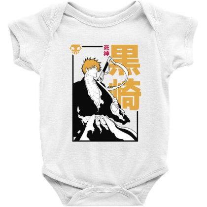 Bleach Ichigo Baby Bodysuit Designed By Paísdelasmáquinas