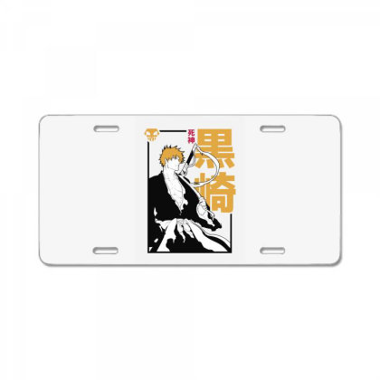 Bleach Ichigo License Plate Designed By Paísdelasmáquinas